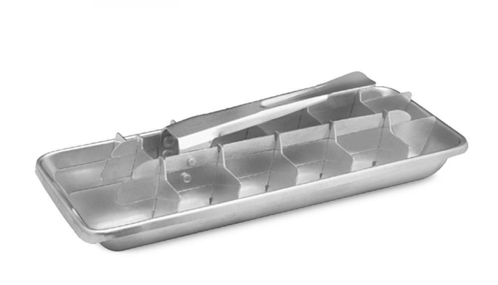 Forma de Gelo com Alavanca - Alumínio ABC  - Lojão de Ofertas