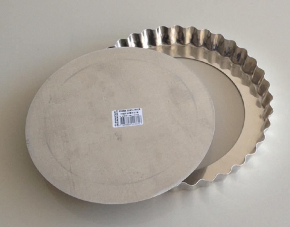 Forma de Quiche/Torta de Maçã 21 cm com Fundo Removível - Doupan  - Lojão de Ofertas