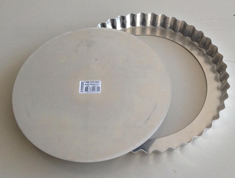 Forma de Quiche/Torta de Maçã 25 cm com Fundo Removível - Doupan  - Lojão de Ofertas