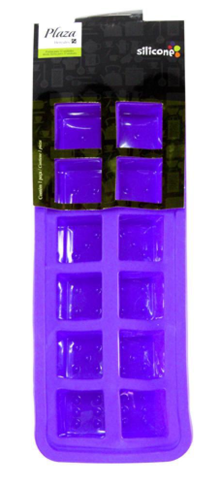 Forma em Silicone para Gelo - 12 cavidades - Hercules  - Lojão de Ofertas