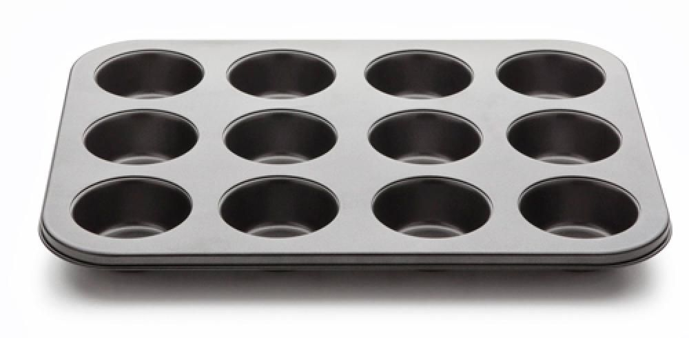 Forma para 12 Cupcakes - Linha Confitero - Multiflon  - Lojão de Ofertas