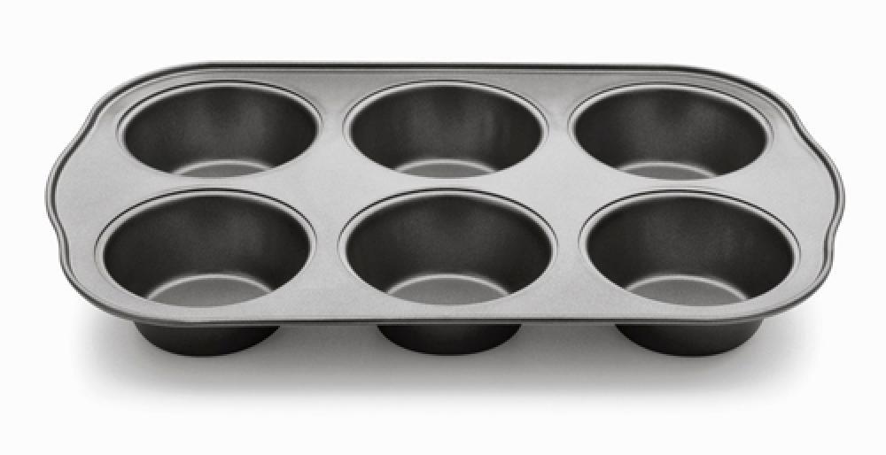 Forma para 6 Cupcakes - Linha Confitero - Multiflon  - Lojão de Ofertas