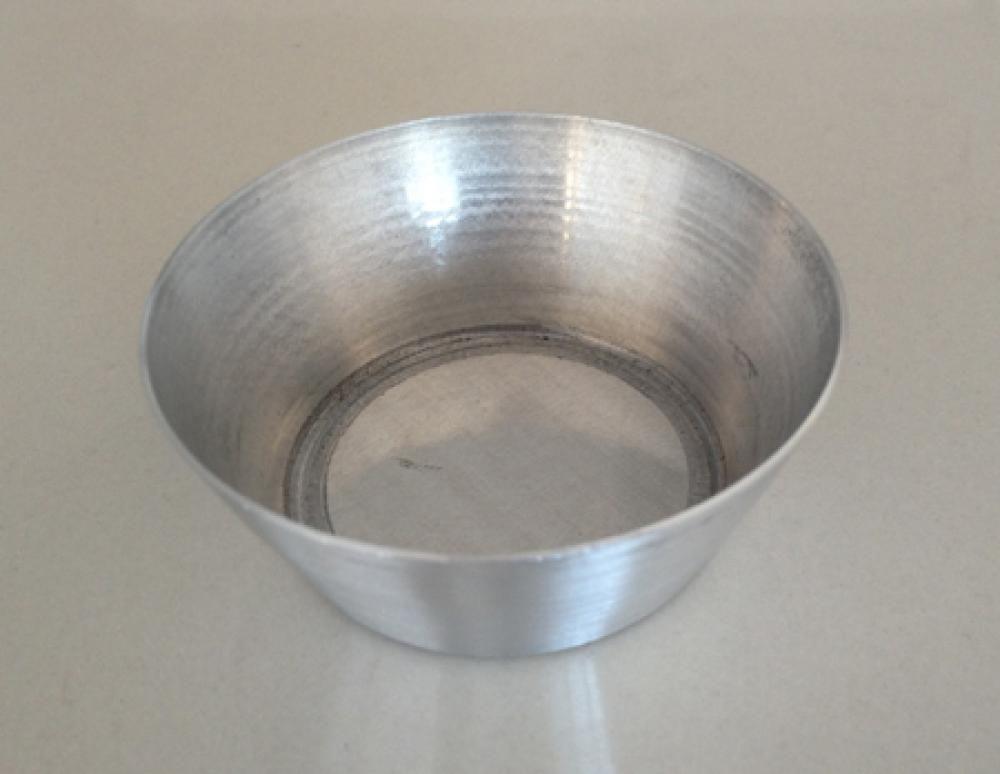 Forma para Empada Nº 1 em alumínio - 5 x 1,6 cm (dúzia) - Doupan  - Lojão de Ofertas