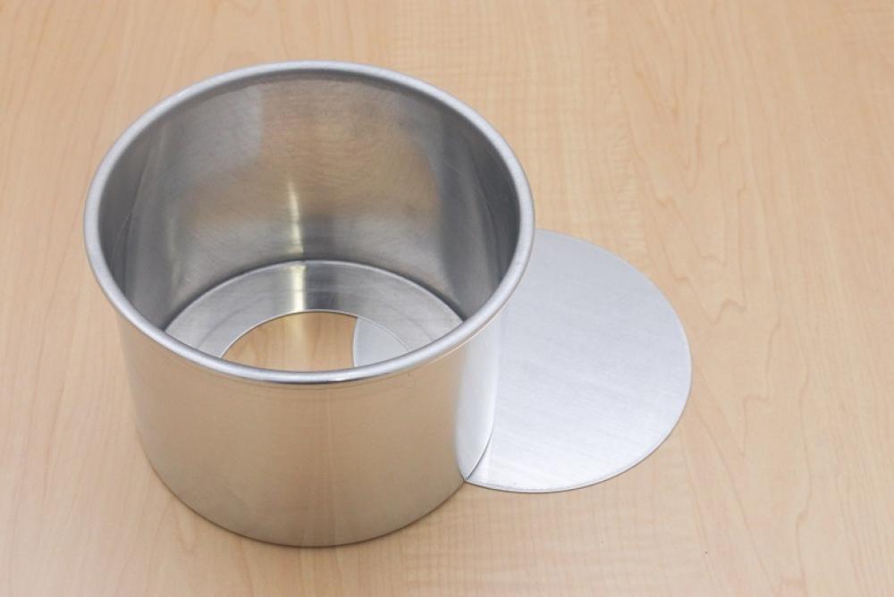 Forma Redonda Reta 13 x 10 cm - Fundo Falso - Doupan  - Lojão de Ofertas