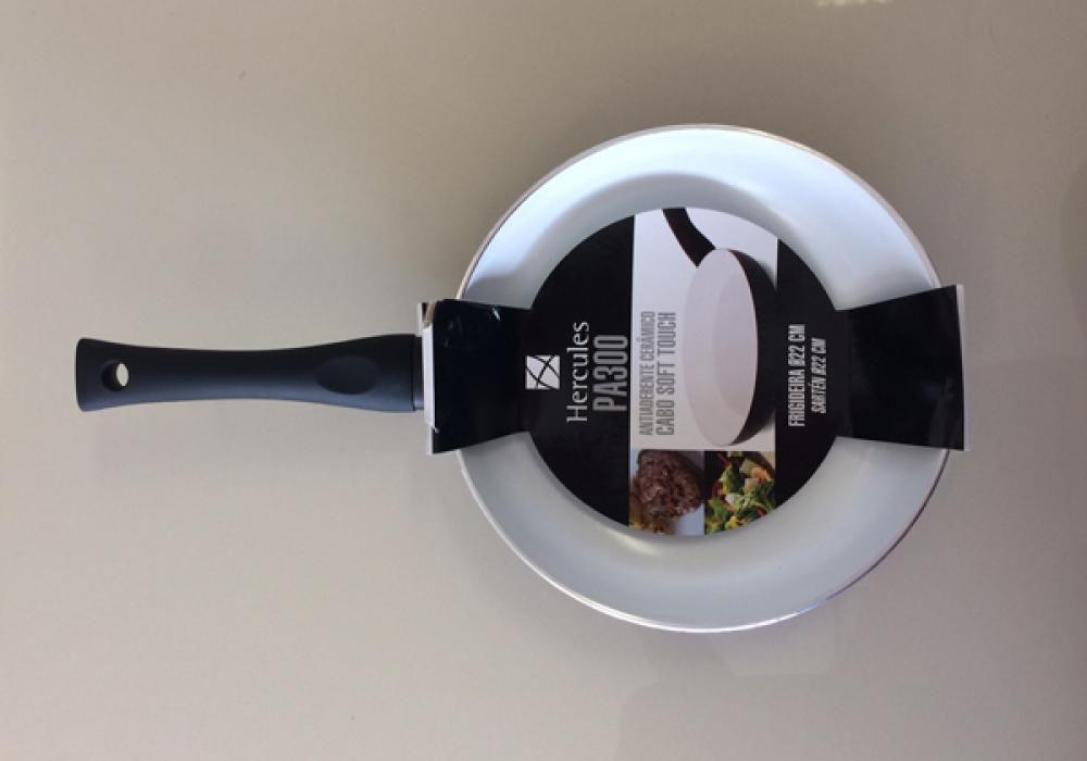 Frigideira 22 cm - Antiaderente Cerâmico - Hercules  - Lojão de Ofertas