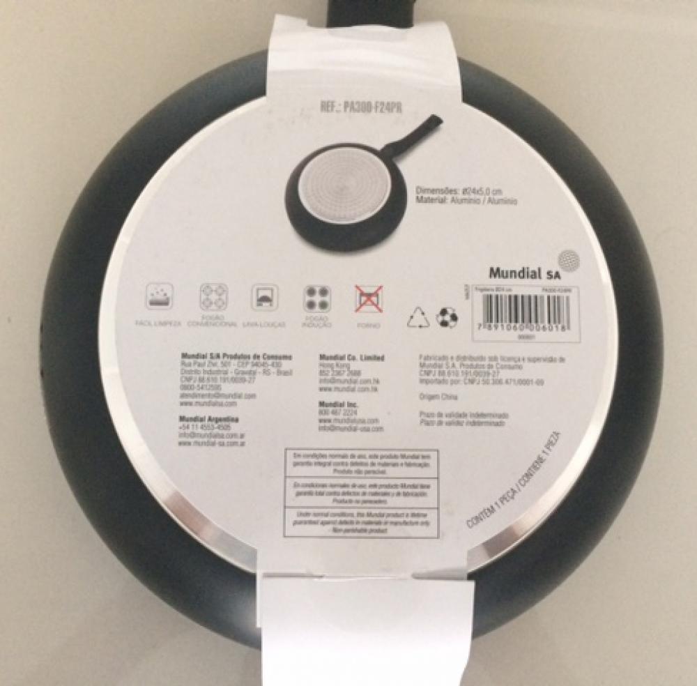 Frigideira 24 cm - Antiaderente Cerâmico - Hercules  - Lojão de Ofertas