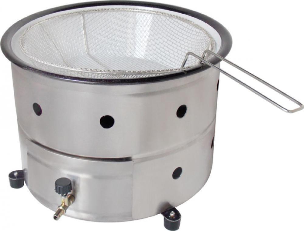 Fritadeira a Gás 3 litros com Peneira - Suportel  - Lojão de Ofertas