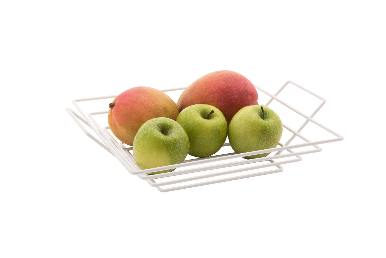 Fruteira Quadrada - Branca - Azzo  - Lojão de Ofertas