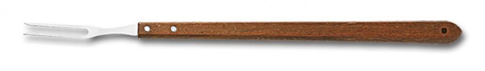 Garfo Trinchante 54 cm - Cabo Madeira - Martinazzo  - Lojão de Ofertas