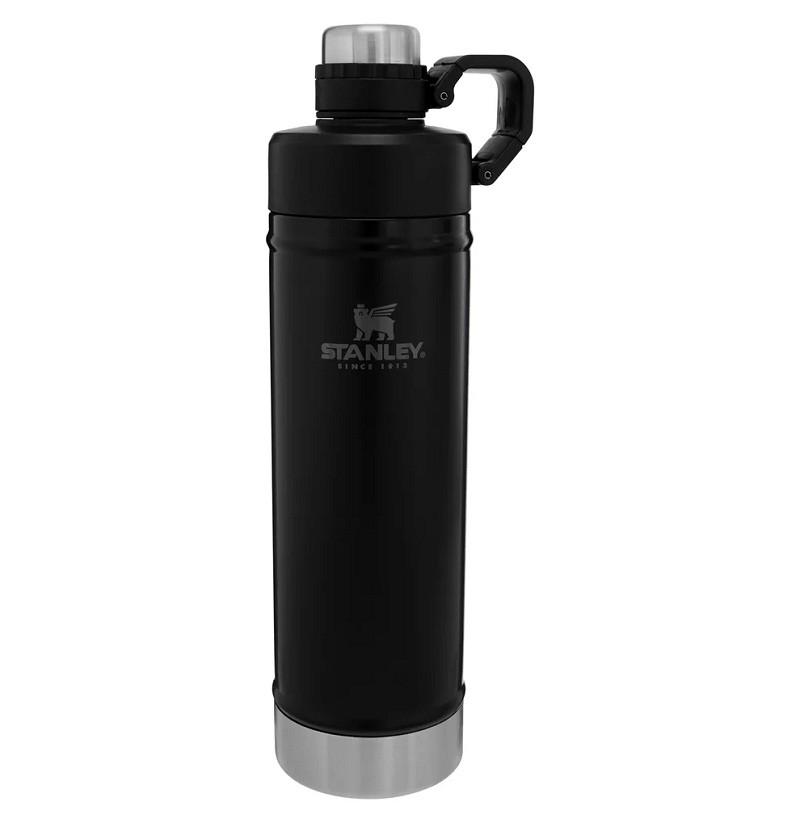 Garrafa Térmica 0,75 litros Preta - Classic Hydration - Stanley  - Lojão de Ofertas