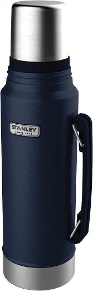 Garrafa Térmica 1 litro Azul - Classic - Stanley  - Lojão de Ofertas