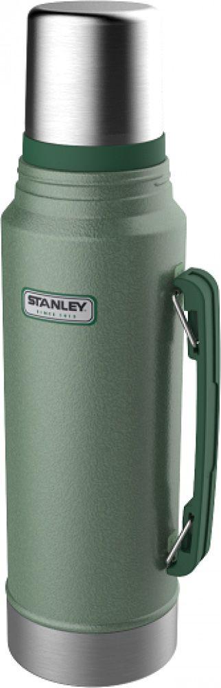 Garrafa Térmica 1 litro Verde - Classic - Stanley  - Lojão de Ofertas