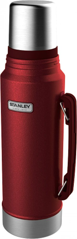 Garrafa Térmica 1 litro Vermelha - Classic - Stanley  - Lojão de Ofertas