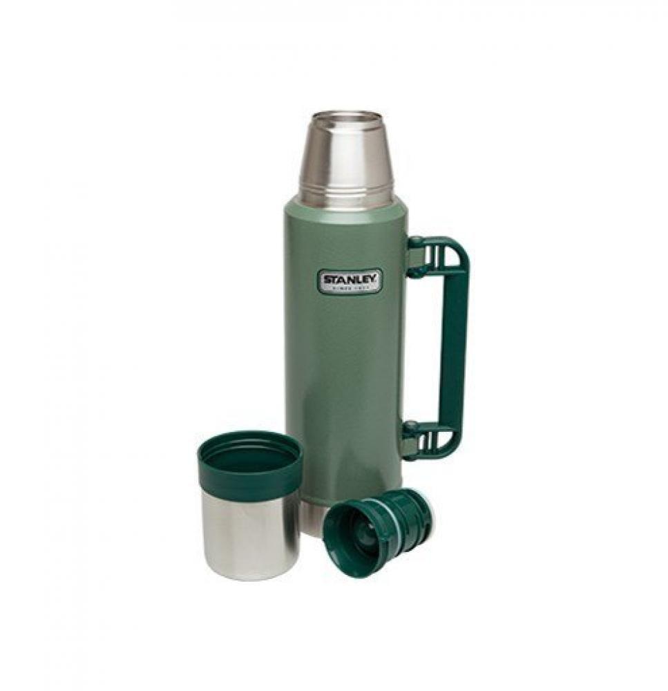 Garrafa Térmica 1,3 litros Verde - Classic - Stanley  - Lojão de Ofertas