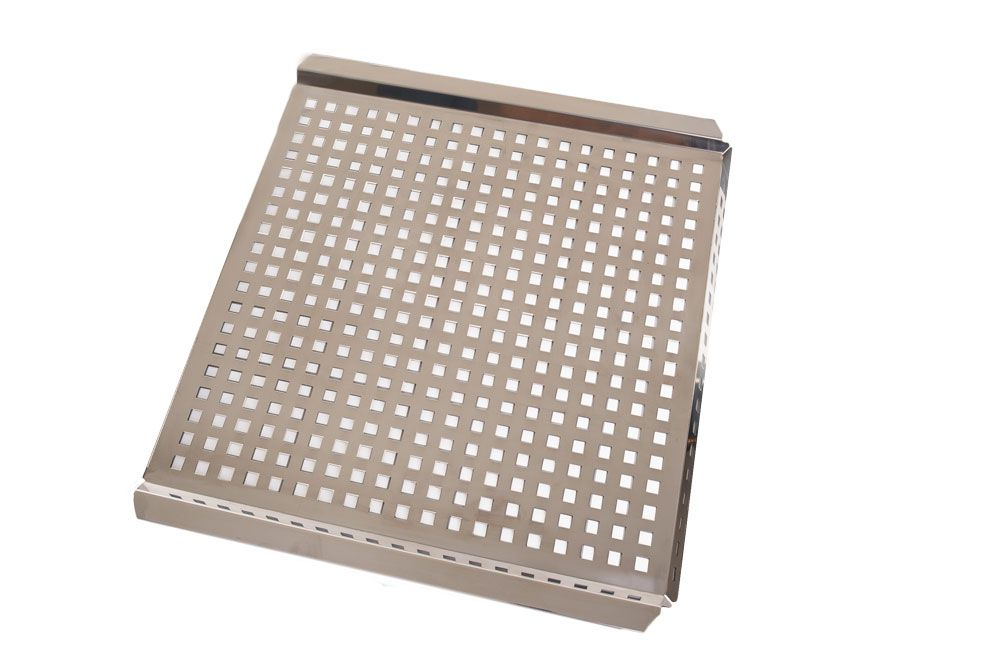 Grelha Inox 45 x 43 cm - 1,2 mm Espessura - Domama  - Lojão de Ofertas