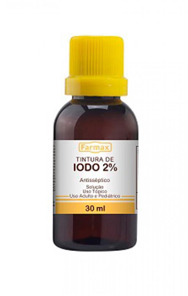 Iodo 2% para Teste - 30 ml  - Lojão de Ofertas