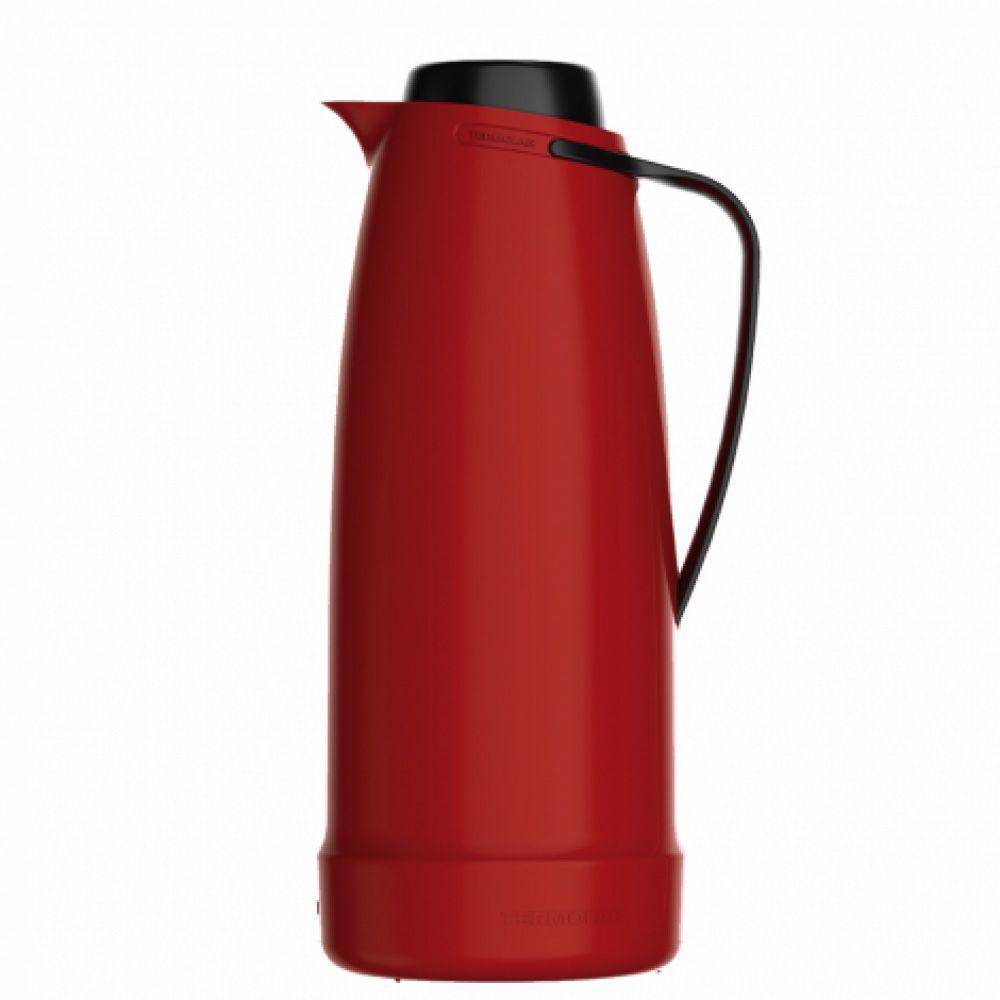 Jarra (Bule) Vermelha 1 Litro - Linha Dama - Termolar  - Lojão de Ofertas