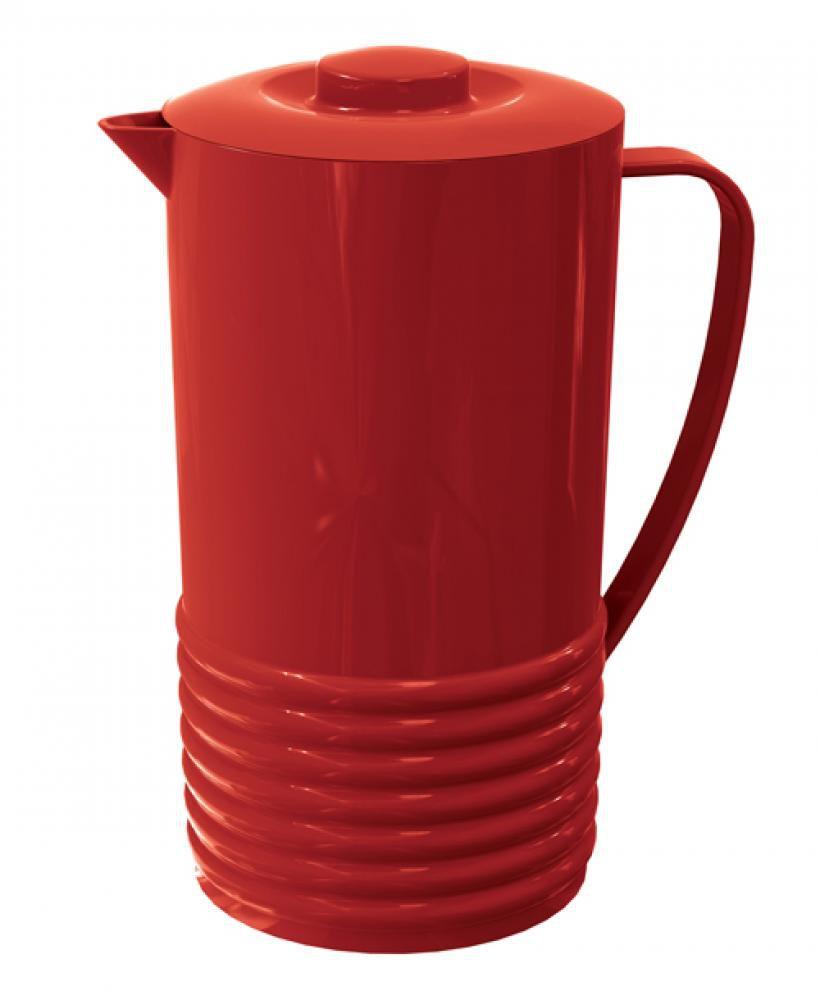 Jarra Plus 2 litros Vermelha - UZ Utilidades  - Lojão de Ofertas