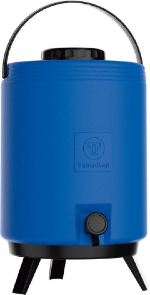 Maxitermo Azul 12L c/ Torneira e Pés - Termolar  - Lojão de Ofertas