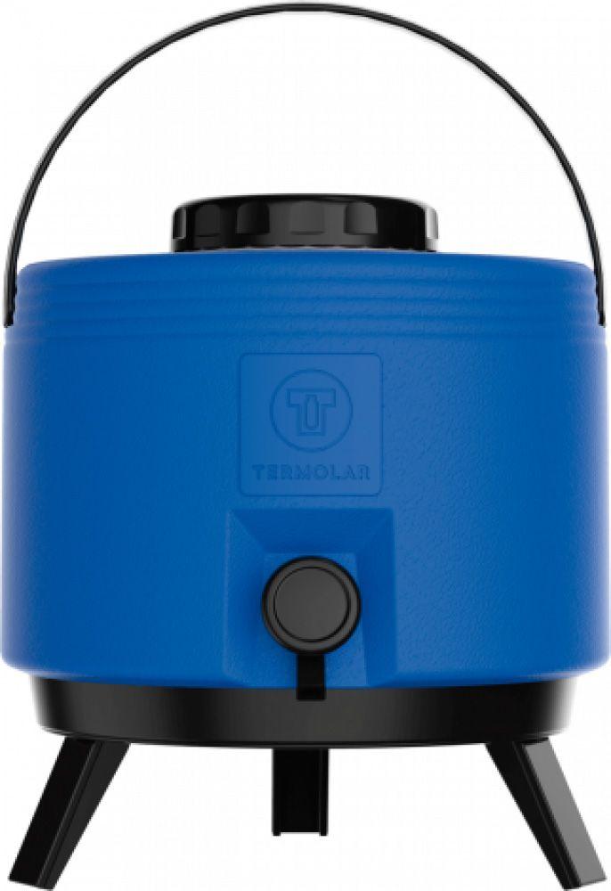 Maxitermo Azul 6L c/ Torneira e Pés - Termolar  - Lojão de Ofertas