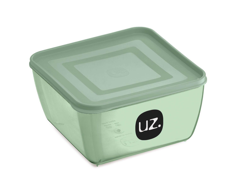 Multiuso Quadrado 500 ml Verde - Linha Vision - UZ Utilidades  - Lojão de Ofertas