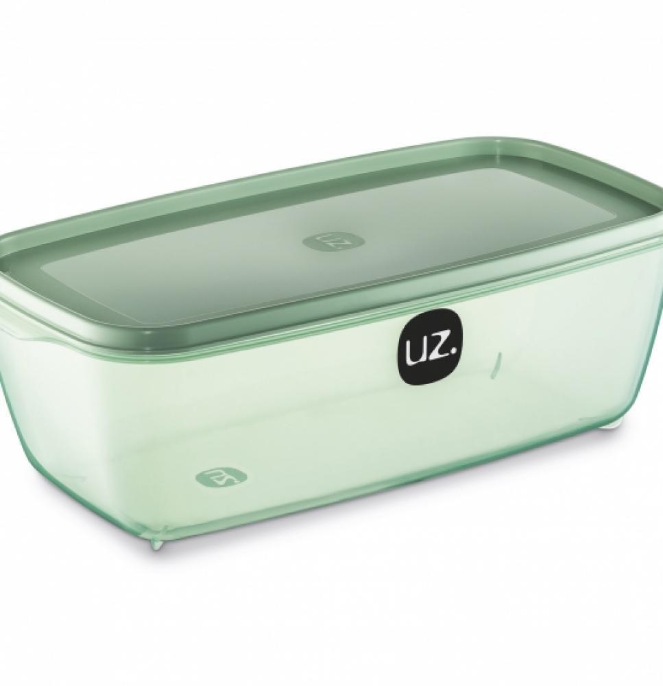 Multiuso Retangular 3 litros Verde - UZ  - Lojão de Ofertas