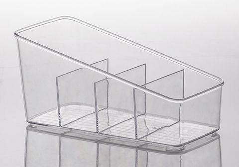 Organizador Diamond 27 x 13 x 13 cm - com Divisórias - Paramount  - Lojão de Ofertas