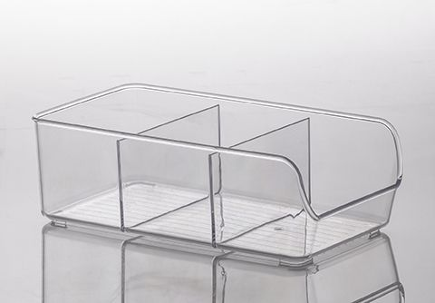 Organizador Diamond 28 x 14 x 9 cm - com Divisórias - Paramount  - Lojão de Ofertas