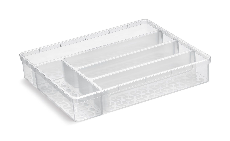 Organizador Multiuso 35,5 x 29,6 x 6 cm - sem tampa - UZ Utilidades  - Lojão de Ofertas