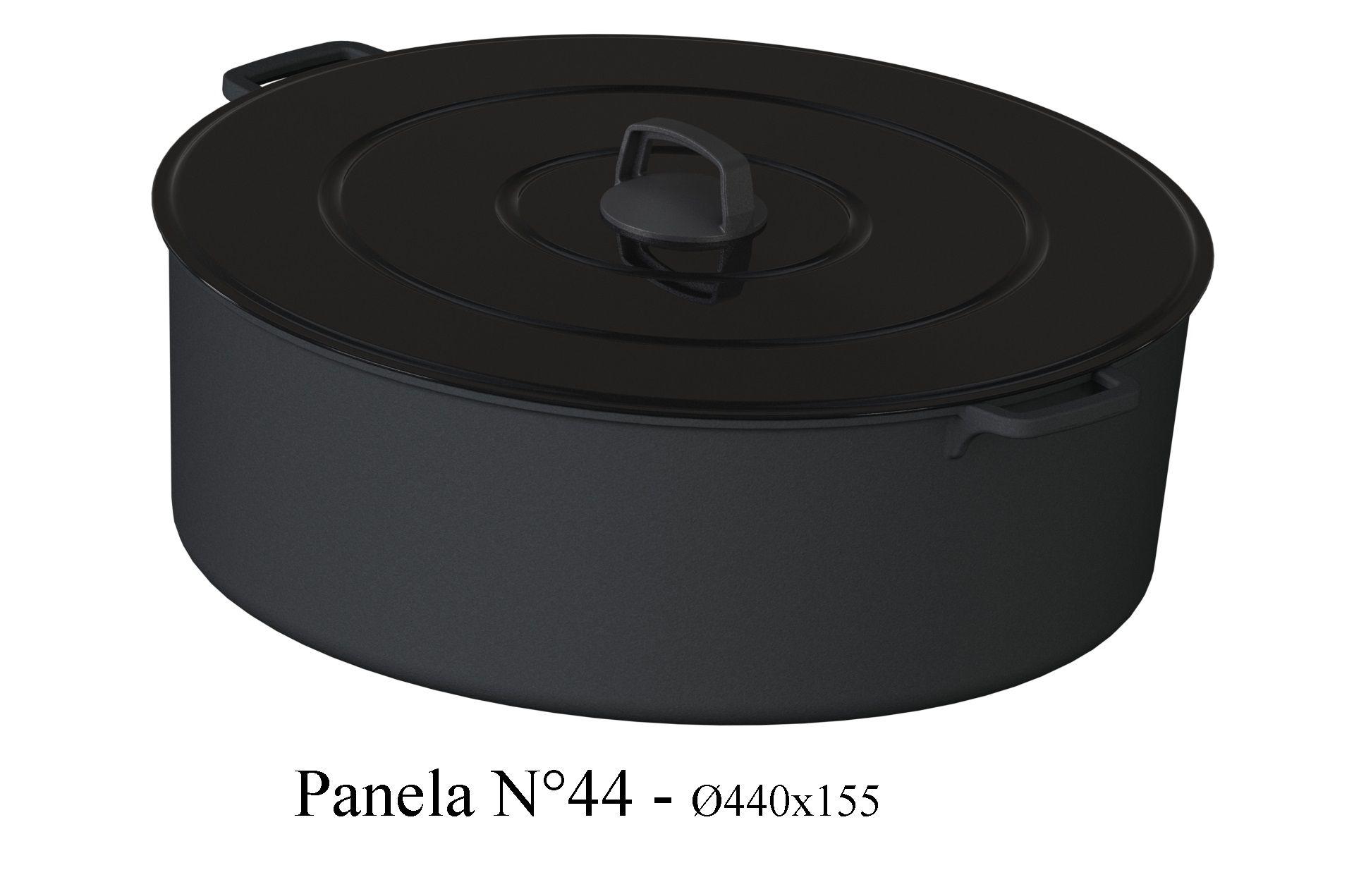 Panela de Ferro 44 cm - 20 litros - CB  - Lojão de Ofertas