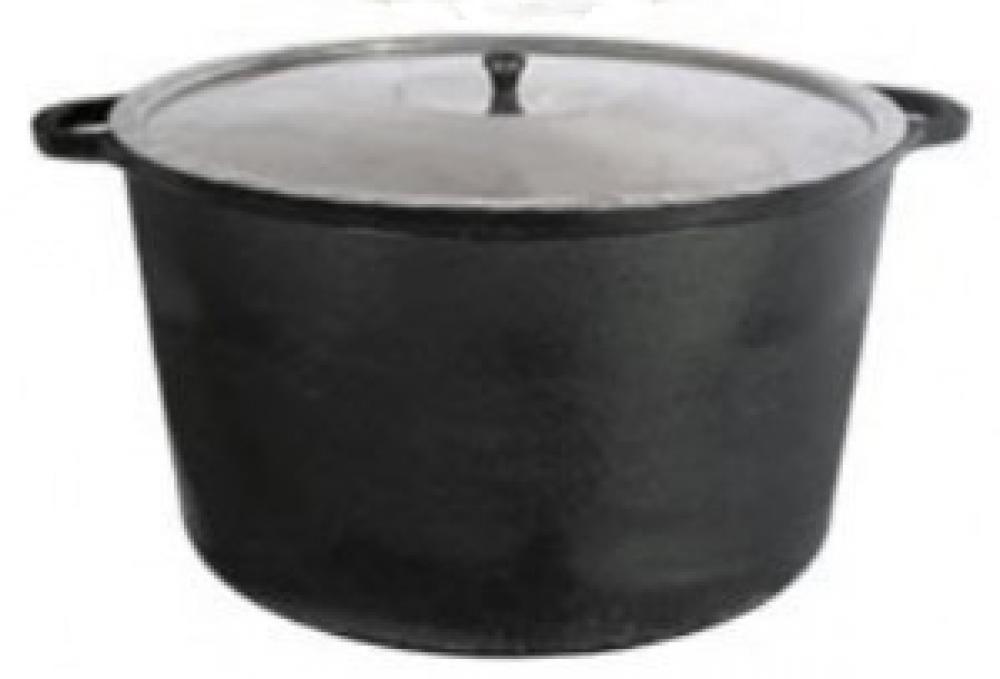 Panela de Ferro Alta 46 cm - 35 litros - Fundição Estrela  - Lojão de Ofertas