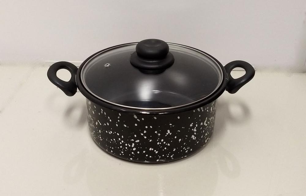 Panela Esmaltada 20 cm - 3 litros - Arasul  - Lojão de Ofertas