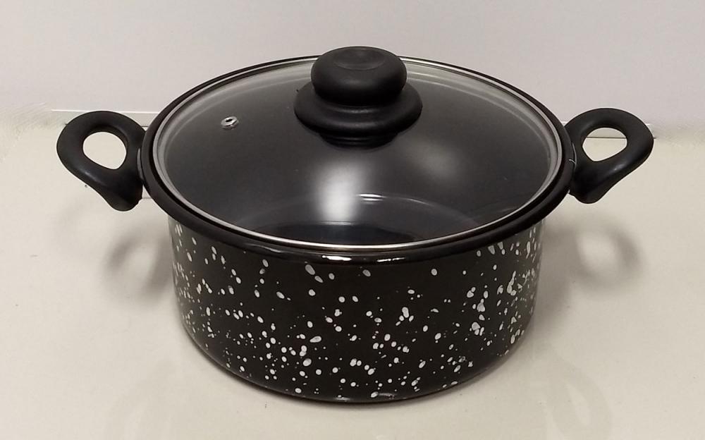Panela Esmaltada 24 cm - 5 litros - Arasul  - Lojão de Ofertas