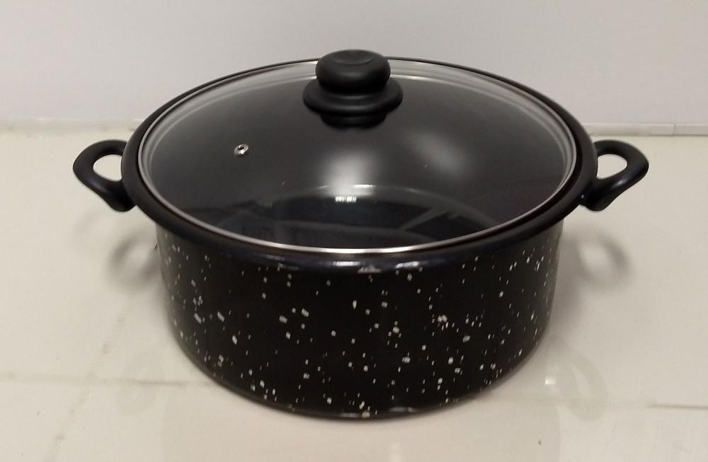 Panela Esmaltada 30 cm - 8,2 litros - Arasul  - Lojão de Ofertas