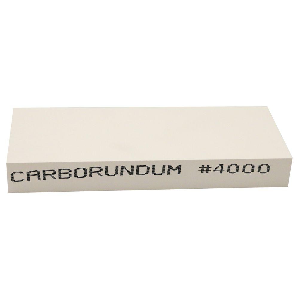 Pedra Alta Gastronomia 4000 - 20 x 7,6 x 2,5 cm - Carborundum  - Lojão de Ofertas