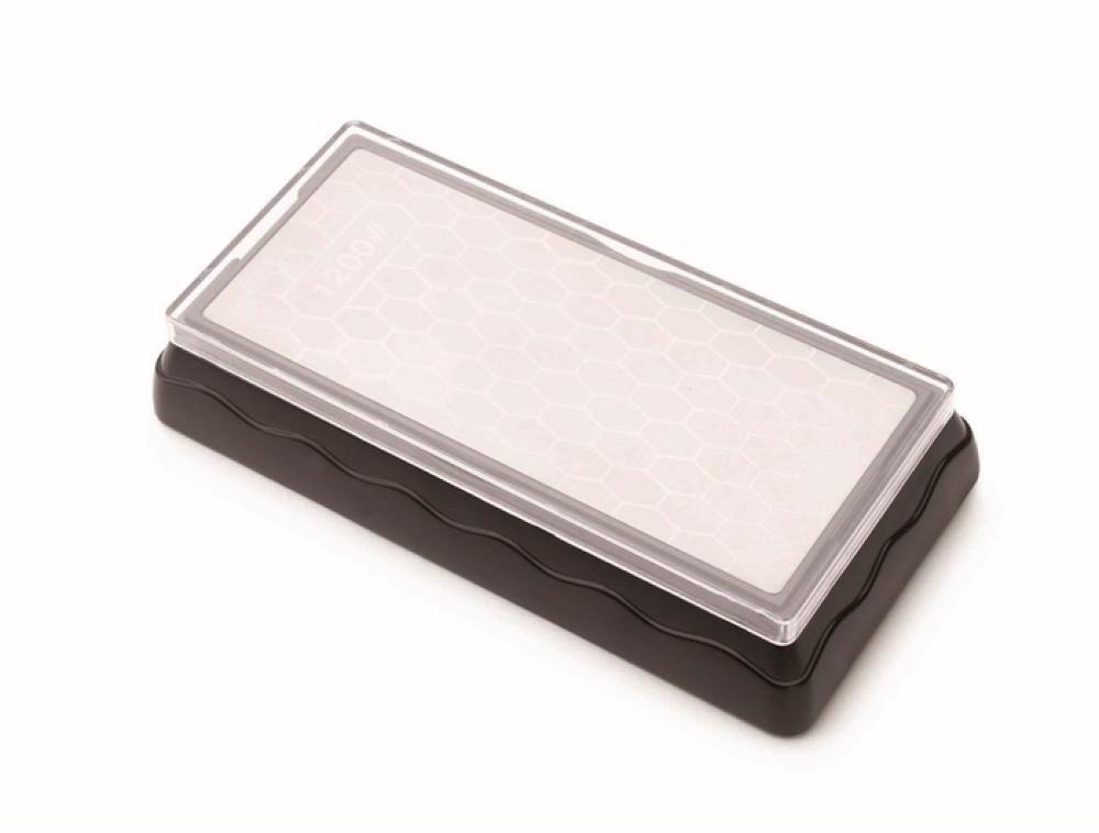 Pedra de Afiar Diamantada Dupla Face 600/1200 - Hércules  - Lojão de Ofertas