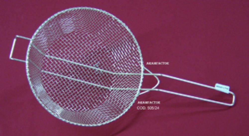 Peneira para Frituras 24 cm - Aramfactor  - Lojão de Ofertas