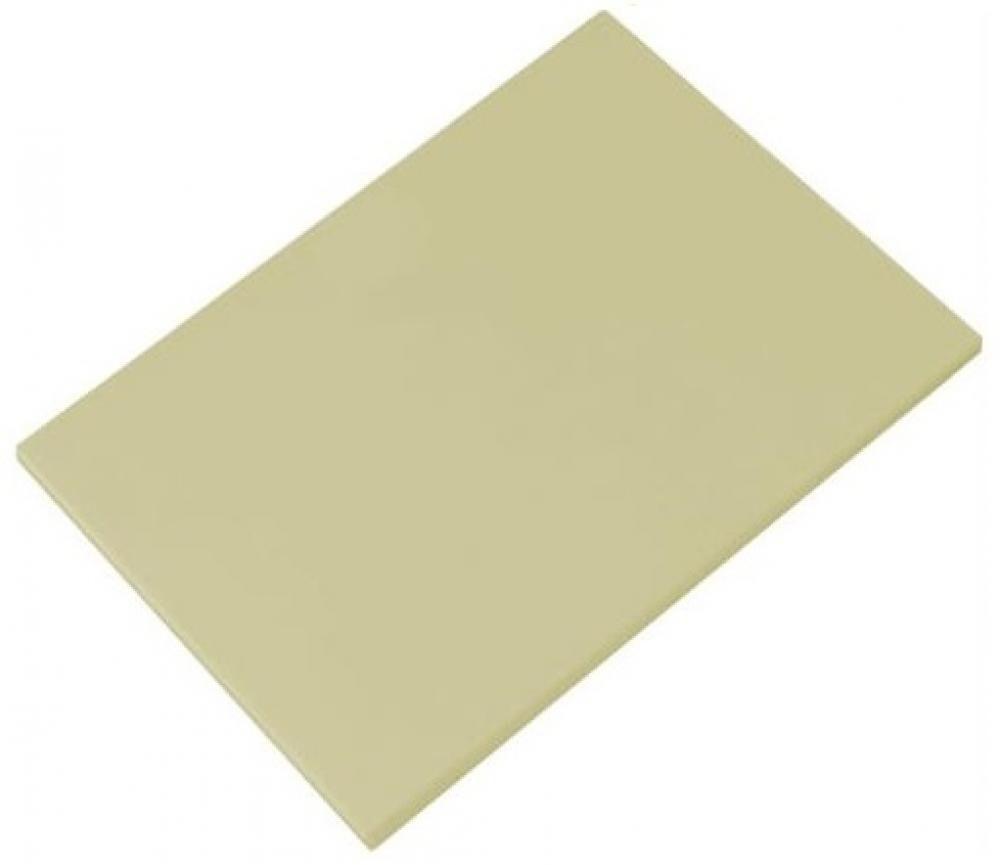Placa de Polietileno Bege 30 x 40 x 1 cm - Kitplas  - Lojão de Ofertas