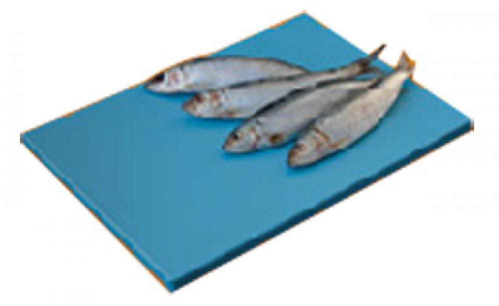 Placa de Polietileno Azul 35 x 25 x 1 cm - Kitplas  - Lojão de Ofertas