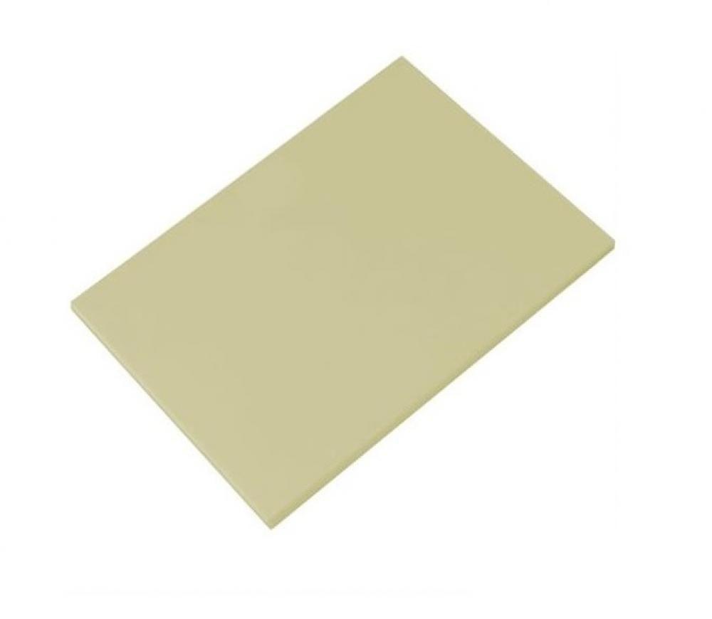 Placa de Polietileno Bege 35 x 25 x 1 cm - Kitplas  - Lojão de Ofertas
