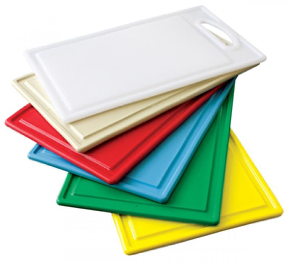 Placa de Polietileno Branca 30 x 50 x 0,9 cm - com Pegador - Kitplas  - Lojão de Ofertas