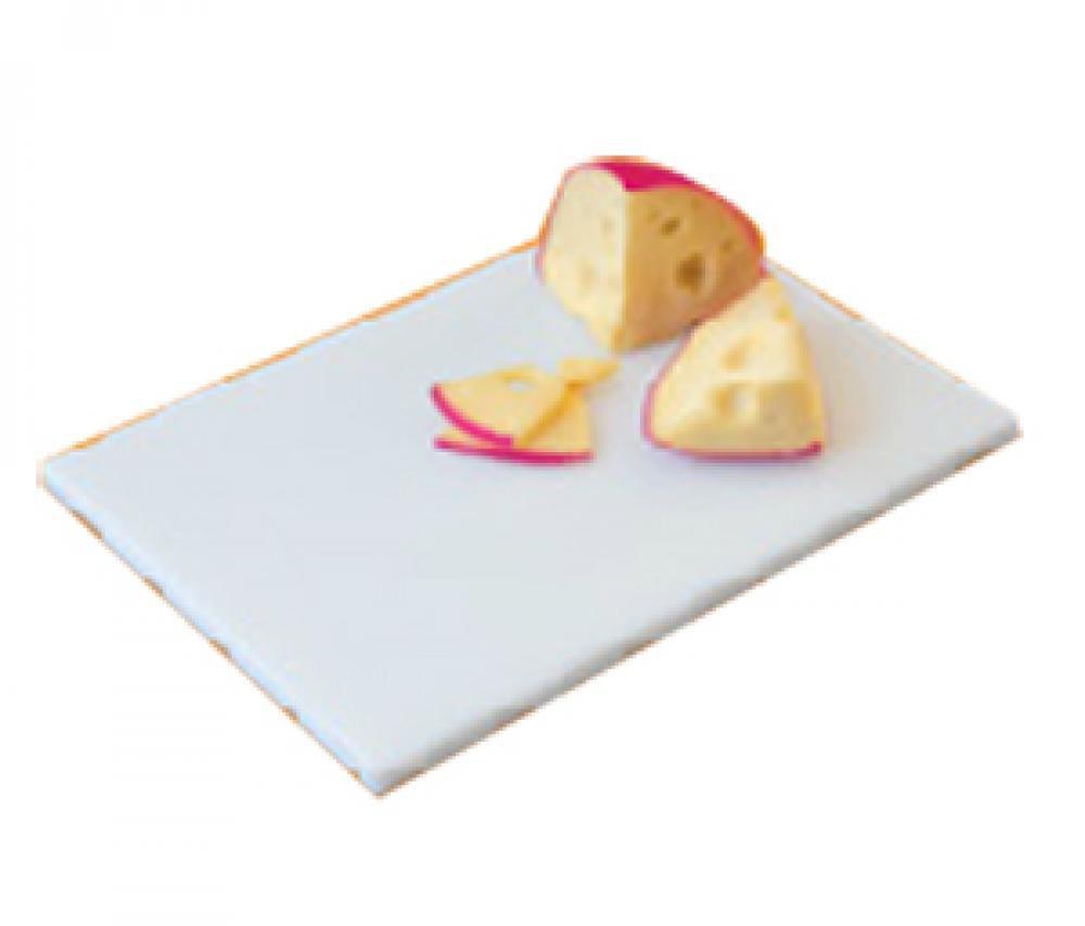 Placa de Polietileno Branca 35 x 25 x 1 cm - Kitplas  - Lojão de Ofertas