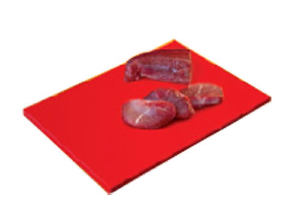 Placa de Polietileno Vermelha 50 x 50 x 1,5 cm - Kitplas  - Lojão de Ofertas