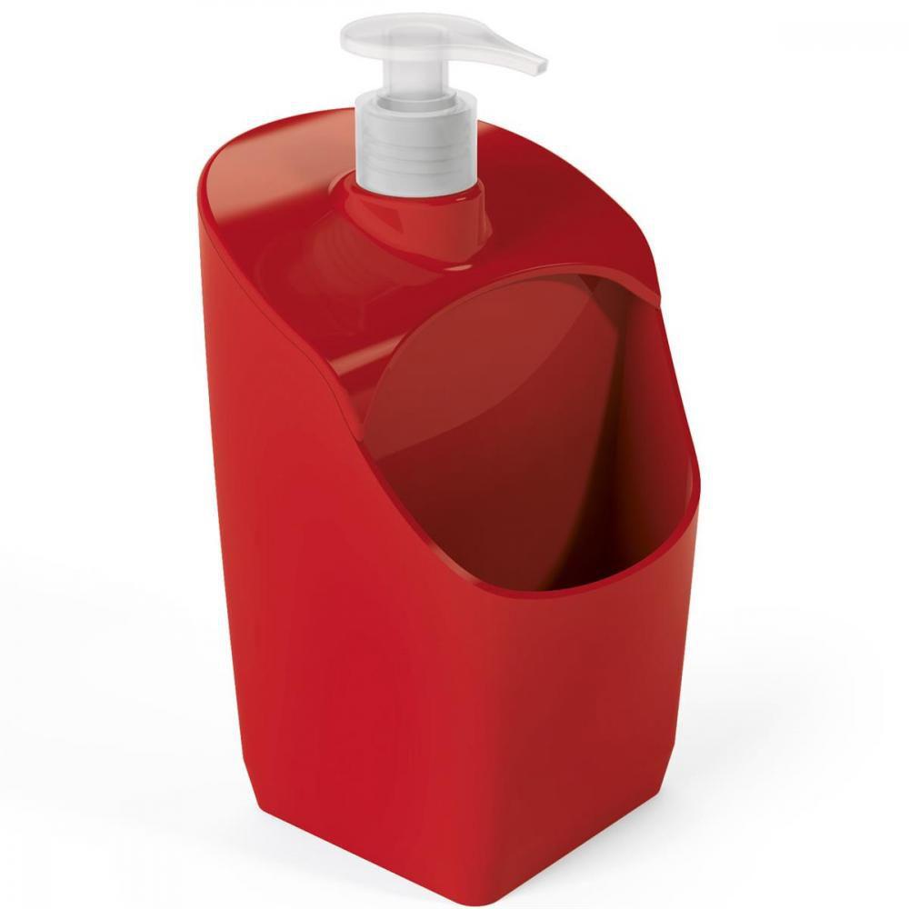Porta Detergente Vermelho - UZ Utilidades  - Lojão de Ofertas