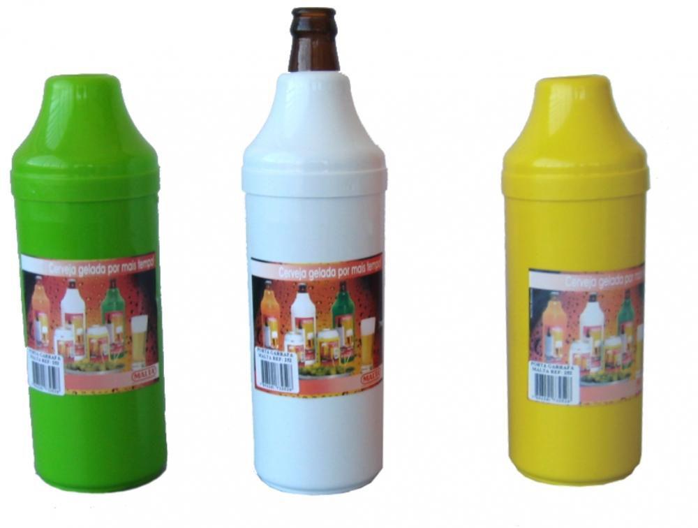 Porta Garrafas de 600 ml com Parede Dupla - Malta  - Lojão de Ofertas