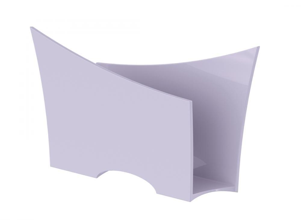 Porta Guardanapo Branco PP - UZ Utilidades  - Lojão de Ofertas