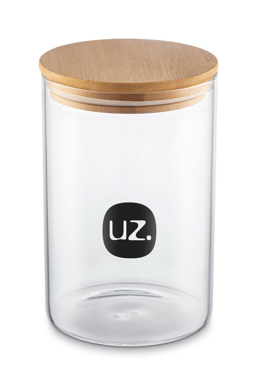 Porta Mantimentos 1 litro - Borossilicato - UZ Utilidades  - Lojão de Ofertas