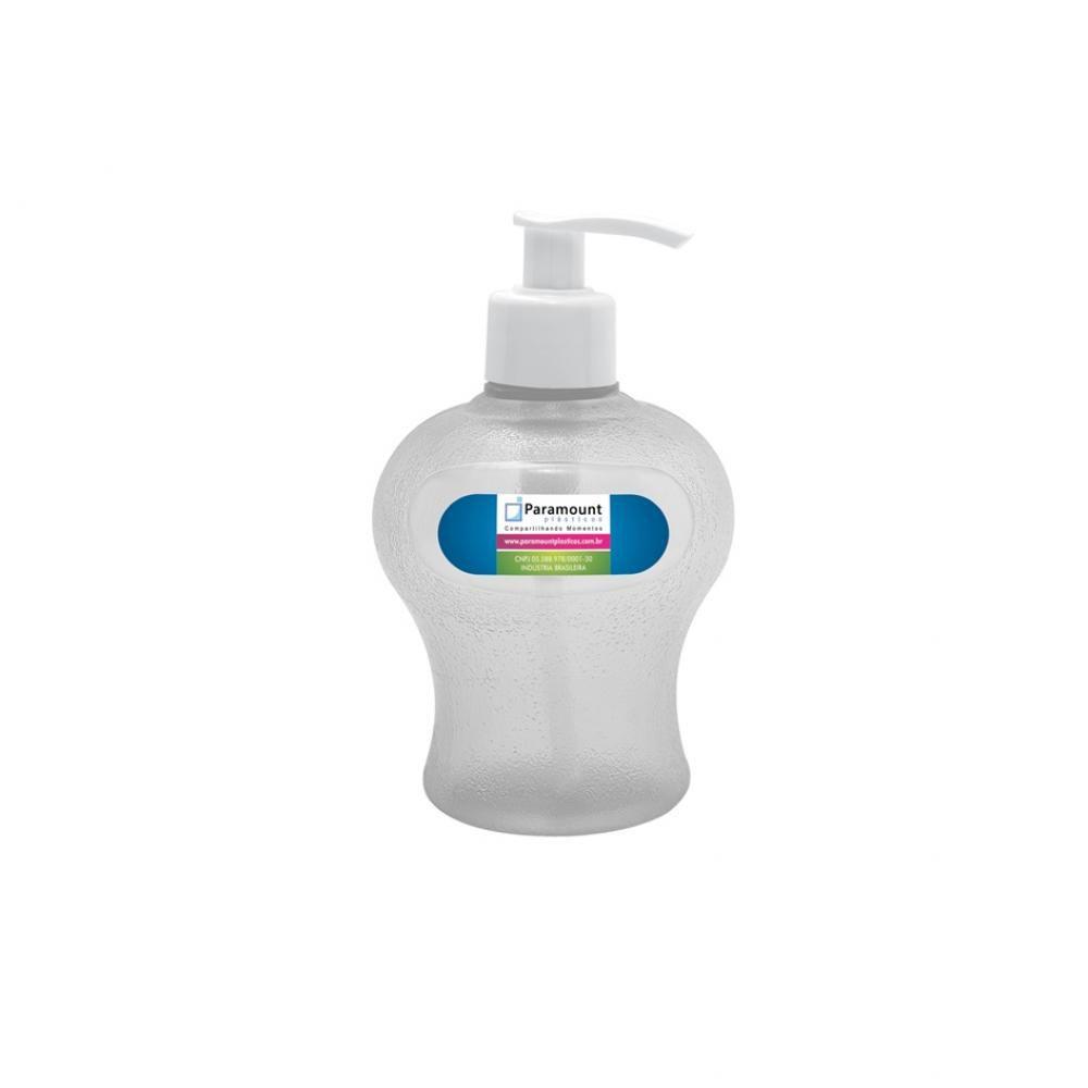 Porta Sabonete Líquido 350 ml (Cores Variadas) - Paramount  - Lojão de Ofertas