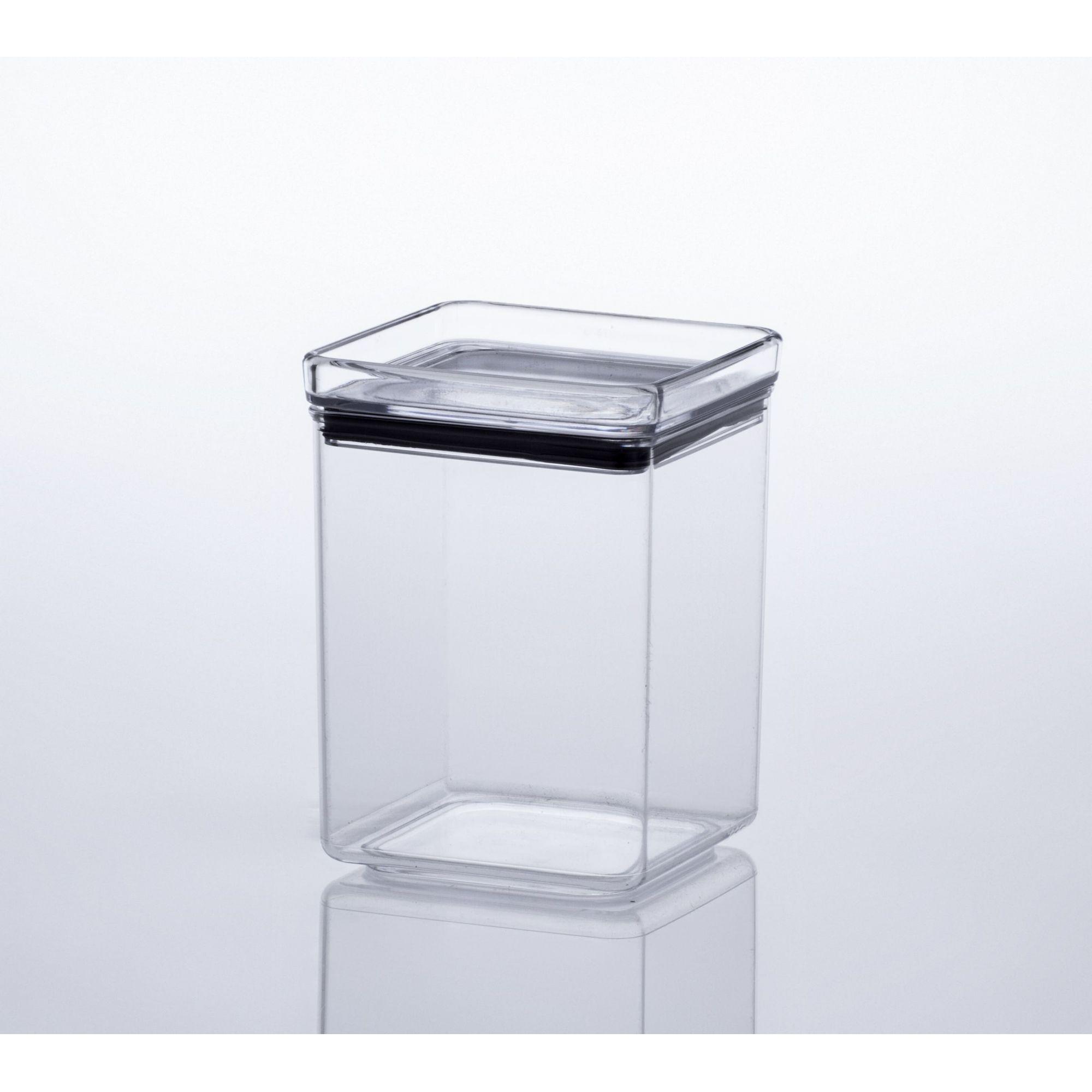 Pote Hermético Quadrado 1000 ml - Paramount  - Lojão de Ofertas