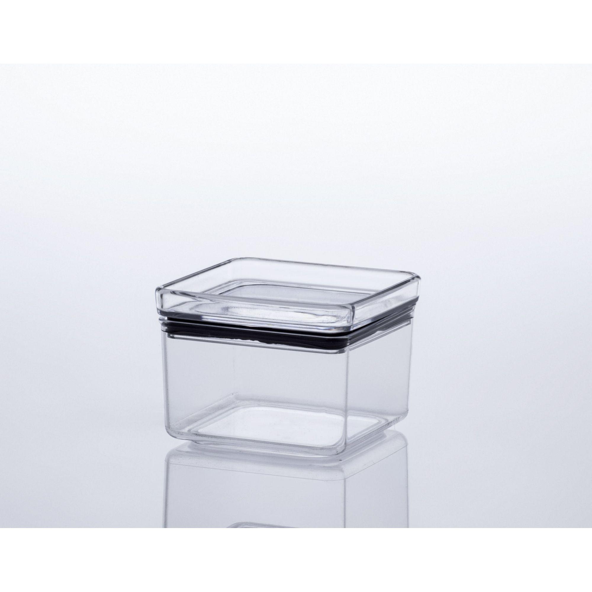 Pote Hermético Quadrado 480 ml - Paramount  - Lojão de Ofertas